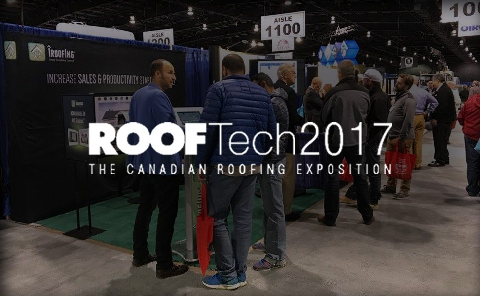 iRoofing at ROOFTech 2017 in Toronto